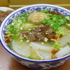 蘭州料理 ザムザムの泉 - 料理写真:牛大(蘭州牛肉麺)ザムザムセット