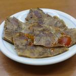 蘭州料理 ザムザムの泉 - セットの牛肉