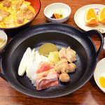 軍鶏すき鍋膳