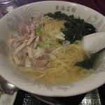 東海菜館 - 鶏そば