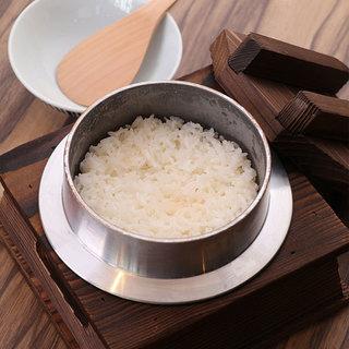 日本最高峰米直送!炊きたて銀シャリ
