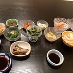 Kinokawa - 最初に供されるコース料理