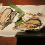 大衆居酒屋 魚炭 - 焼き牡蠣