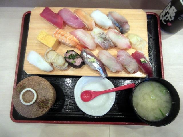 寿司 魚がし日本一 御徒町店の料理の写真