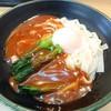 グル麺 - 料理写真:名古屋あんかけきしめ温玉添え(500円)