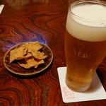 106778581 - 生ビールとおつまみ