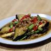 ホットウェーブ - 料理写真:ナスのガパオ炒め