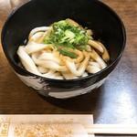 七越茶屋 - 伊勢うどん(ノーマル)