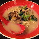 CHABUYA MORIZUMI★CUISINE - 〆のらぁ麺