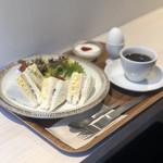 106781019 - サンドイッチセット(ブレンドコーヒー)