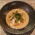 Arashida - 春の山菜とたらのブランダート