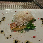 Arashida - 筍と菜の花のパルミジャーノかけ