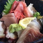 魚康 - 海鮮丼アップ