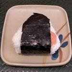 はなまるうどん - おにぎり・鮭(120円)