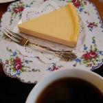 茶羅 - ケーキも美味しい