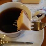 茶羅 - しっかりとしたチーズケーキ