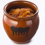 すたみな太郎 - 濃厚辛味噌だれの壺漬け焼き