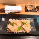 下町割烹とめだて - 穴子ちらし寿司