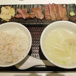 牛タン専門レストラン 陣中 冠舌屋 - 牛たん定食