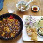 たかぎ - 料理写真:麻婆飯ランチ