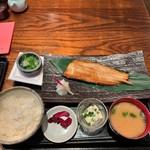 架け橋 - 選べるお魚定食(ホッケ焼き) 850円