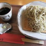 仁べえ荘 - 「もりそば(大盛り)  ¥1.200