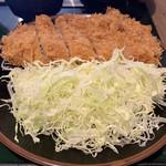 とんかつ こころ - もち豚上ロース定食¥1100