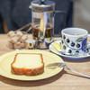 nokka - 料理写真:深煎りブレンド、レモンケーキ