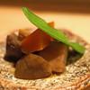 タキギヤ - 料理写真:お通し  がめ煮