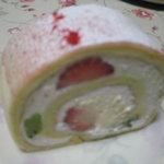 デザートナンバーイチ ロールケーキ - いちご