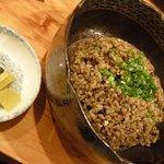 新日本料理 旬味 すずの木 - 野沢菜チャーハン