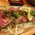 新日本料理 旬味 すずの木 - 和牛のたたき