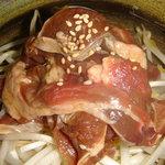 麦羊亭 - 手揉み(醤油)ジンギスカン