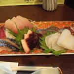 吾作 - 2000円のお造りおまかせ(2008.12)