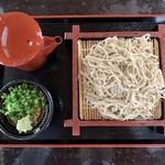 神丼 - 料理写真:もりそば
