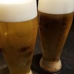 旬房 街道 青葉 - とりあえず、ビール。