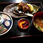 カドヤ - いなり鰻ランチ¥1650(限定30食)