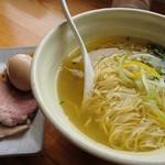 麺堂HOME - 全部のせ塩味 800円