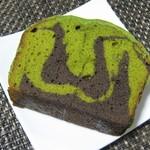 106809076 - 抹茶とチョコレートのケーキ