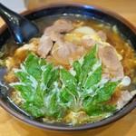 名代一休庵 - 料理写真:肉とじうどん