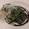 ItalianRestaurant & Wedding OZ - 料理写真:●和牛サーロインのグリル 春の豆のサラダ仕立て