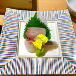 ホテル白菊 - 刺身3種