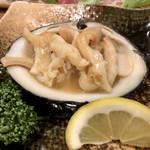 開陽亭 - 北寄貝焼き