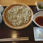 蕎麦にしざわ - 料理写真:天ざる