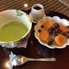 みつばち - 料理写真:さっぱりといただける「あんず豆かん」素朴な味わいが染み込みます(о´∀`о)