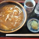 更科京屋 - 料理写真:カレー南蛮蕎麦¥700-