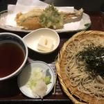 奥藤本店 - 穴子天 蕎麦