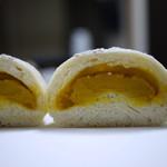 セ・エム・アッシュ - かぼちゃあんフランス(断面)
