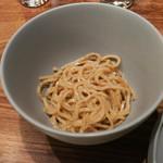 TexturA - 山椒麺、よだれ鳥の汁に入れる