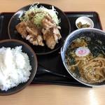 登竜 - 油淋鶏定食